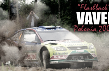 Mikko Hirvonnen a bordo del Focus RS WRC '09/ Fotomontaje por Martín Velarde