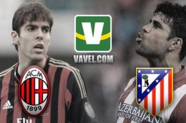 No San Siro, Milan e Atlético de Madrid travam duelo buscando a classificação