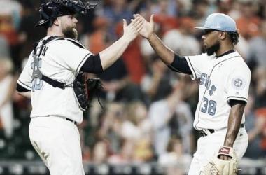 Dayan Díaz derrota a los Yankees