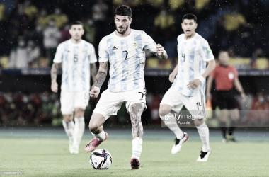 Eliminatorias Sudamericanas- Argentina 2- Colombia 2