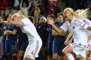Nos pênaltis, Dinamarca elimina a França e enfrenta a Noruega nas semis da Euro feminina