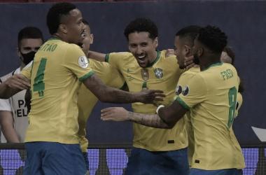 Brasil 3-0 Venezuela: la actual campeona sudamericana está imparable