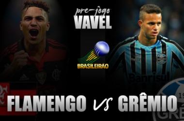 Pré-Jogo: Flamengo recebe Grêmio na estreia de Guerrero no Maracanã