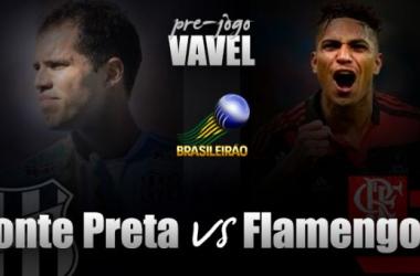 Pré-jogo: Próximos no meio da tabela, Ponte Preta e Flamengo se enfrentam em Campinas