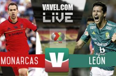 Resultado Monarcas - León en Liga MX Apertura 2015 (3-4)