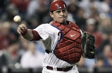 Catcher Carlos Ruiz returns from suspension