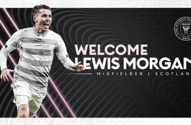 Lewis Morgan firma por Inter Miami CF