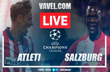 Gols e melhores momentos para Atlético de Madrid 3x2 Red Bull Salzburg pela Champions League 2020-21