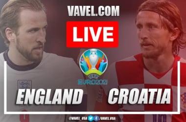 Goal and highlights: England 1-0 Croatia in Euro 2020