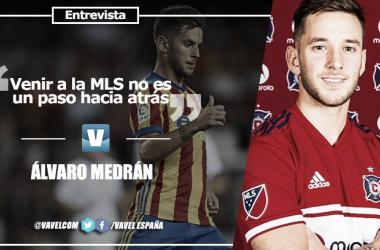 """Entrevista. Álvaro Medrán: """"Venir a la MLS no es un paso hacia atrás"""""""