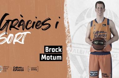 Brock Motum y Valencia Basket: crónica de una marcha anunciada