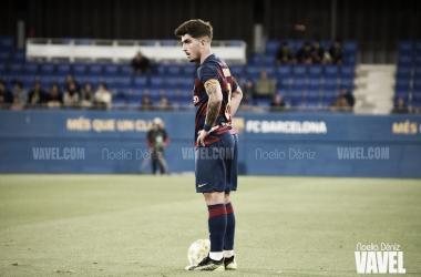 Monchu Rodríguez ante el Fútbol Club Andorra en la jornada 12 de la competición   Foto de Noelia Déniz, VAVEL