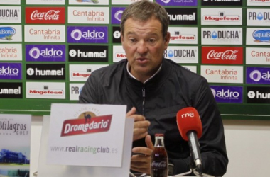 """Ángel Viadero: """"Tenemos ganas de mejorar, de ser mejor equipo, de ganar"""""""