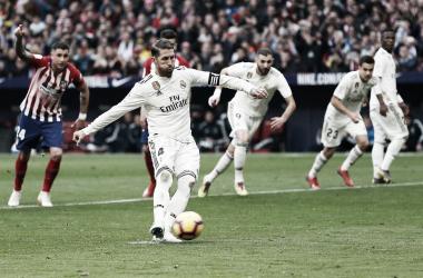 Imagen de un Derbi madrileño| Fuente: Real Madrid C.F