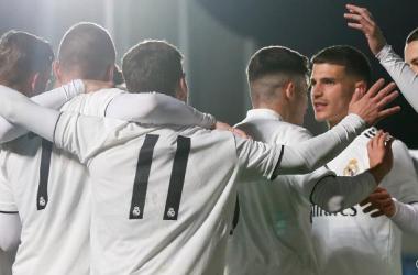 Burgos 1-2 Real Madrid Castilla: El Castilla sufre la victoria en Burgos