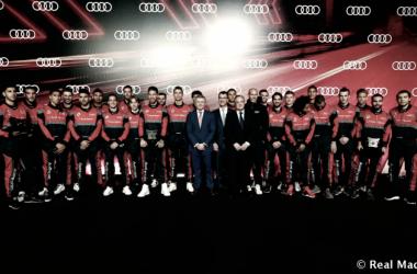 El Real Madrid se pone a punto en el evento de Audi