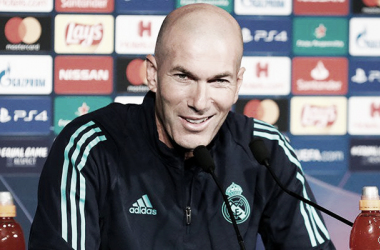 Zidane en rueda de prensa / Foto: Real Madrid