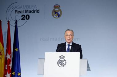 """Florentino Pérez: """"La reforma del fútbol no puede esperar y debemos afrontarla cuanto antes"""""""