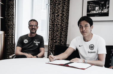 Makoto Hasebe seguirá un año más con Eintracht Frankfurt
