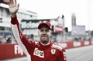 Vettel festeja ante su gente | Foto: Fórmula 1