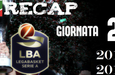 Legabasket: risultati e tabellini della seconda giornata