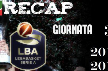Legabasket: risultati e tabellini della terza giornata