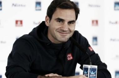 Federer en conferencia de prensa | Foto: Nitto ATP Finals