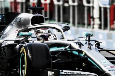 El Mercedes de Hamilton | Foto: F1