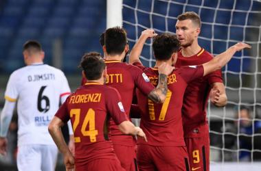 Serie A - Il Benevento spaventa la Roma, ma crolla nella ripresa: show di Under, vince la Roma (5-2)