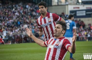 """Villa: """"Nuestras únicas cuentas son ganar al Málaga"""""""