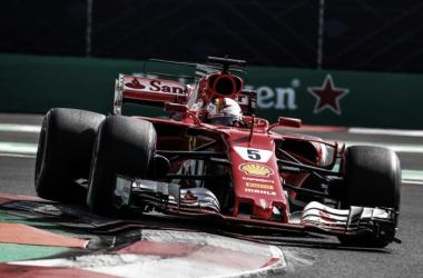 El Ferrari SF-70H de Vettel | Foto: Fórmula 1