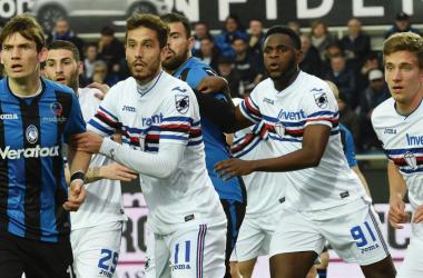 Uno scatto dal match. | U.C. Sampdoria, Twitter.