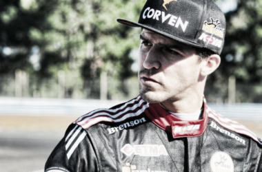 Rossi, ni bien terminó de clasificar | Foto: Campeones