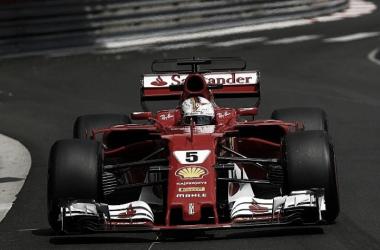Vettel marcó el record del trazado | Foto: Motorsport