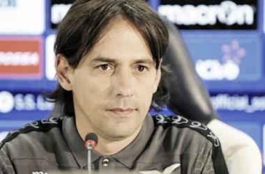 Simone Inzaghi, l'allenatore della Lazio. | sslazio.it