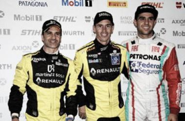 Los tres primeros de la clasificación | Foto: Súper TC 2000