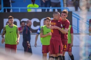 Serie A - Roma, battuta la SPAL: al Mazza si sblocca pure Schick (0-3)