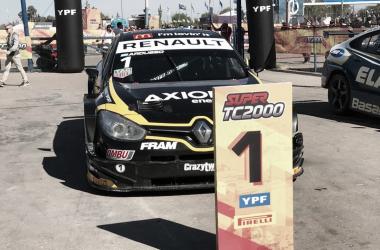 El auto de Ardusso, ni bien terminó la carrera | Foto: Súper TC 2000