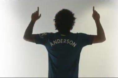 Felipe Anderson nel video di presentazione dedicatogli dal suo nuovo club. | @WestHamUtd, Twitter.
