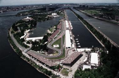 Vista aérea del circuito canadiense | Foto: Fórmula 1
