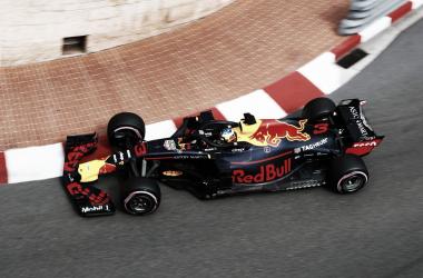 Ricciardo por entrar al túnel | Foto: Fórmula 1