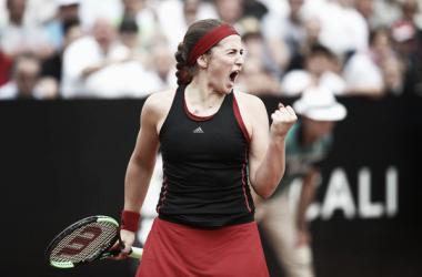 Jelena festeja la victoria | Foto: Internazionali BNL d'Italia