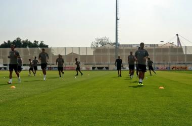 Una foto da un allenamento recente della Juventus. | @JuventusFC, Twitter.