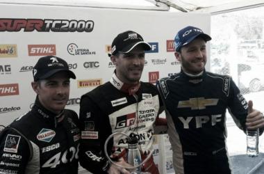 Los tres primeros | Foto: Súper TC 2000