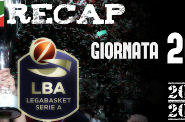 Legabasket: risultati e tabellini della ventesima giornata