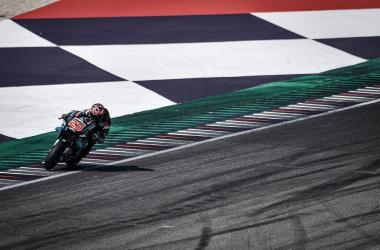 El rookie marcó un mejor tiempo de 1:31.639. Imagen: MotoGP