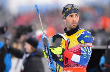Martin Fourcade espère une nouvelle fois remporter le général comme lors des précédentes saisons.   Photo : ski-nordique.net