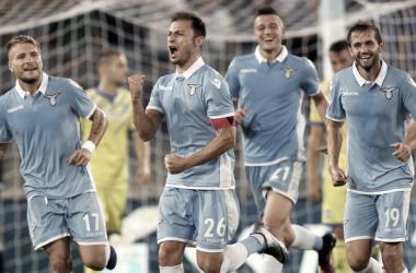 Radu esulta per il suo goal al Pescara | Source: corrieredellosport.com