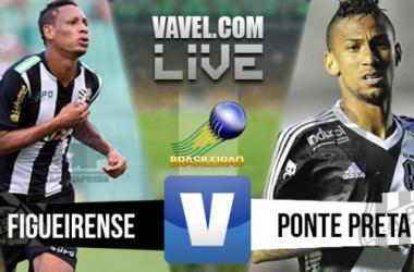Resultado Figueirense x Ponte Preta no Brasileirão 2015 (3-1)