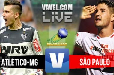 Resultado Atlético-MG x São Paulo no Campeonato Brasileiro 2015 (3-1)